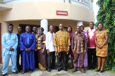 Friday wear for both Home Based and Local Staff of Ghana High Commission Freetown