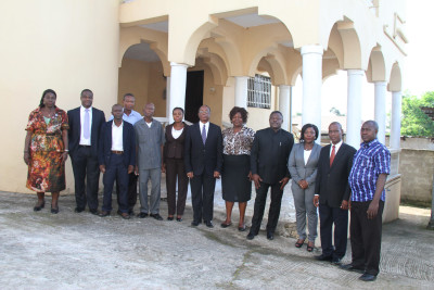 Local and Home Based Staff of Ghana High Commission Freetown