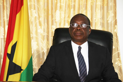 His Excellency Major General Carl S. Modey (Rtd) Ghana High Commisssioner to Sierra Leone