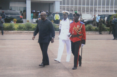 Arrival of His Excellency John Mahama to Sierra Leone