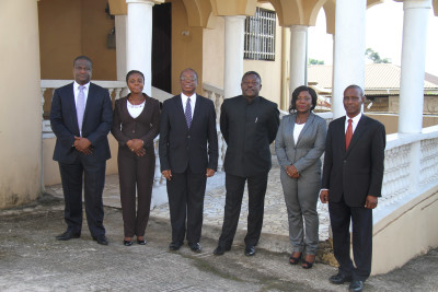 Home Based Staff with His Excellency the High Commissioner