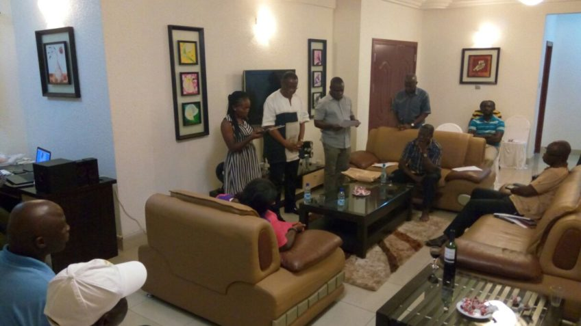 Ghapsil Send off Party for Destina Samani and Mr K. Sarpong